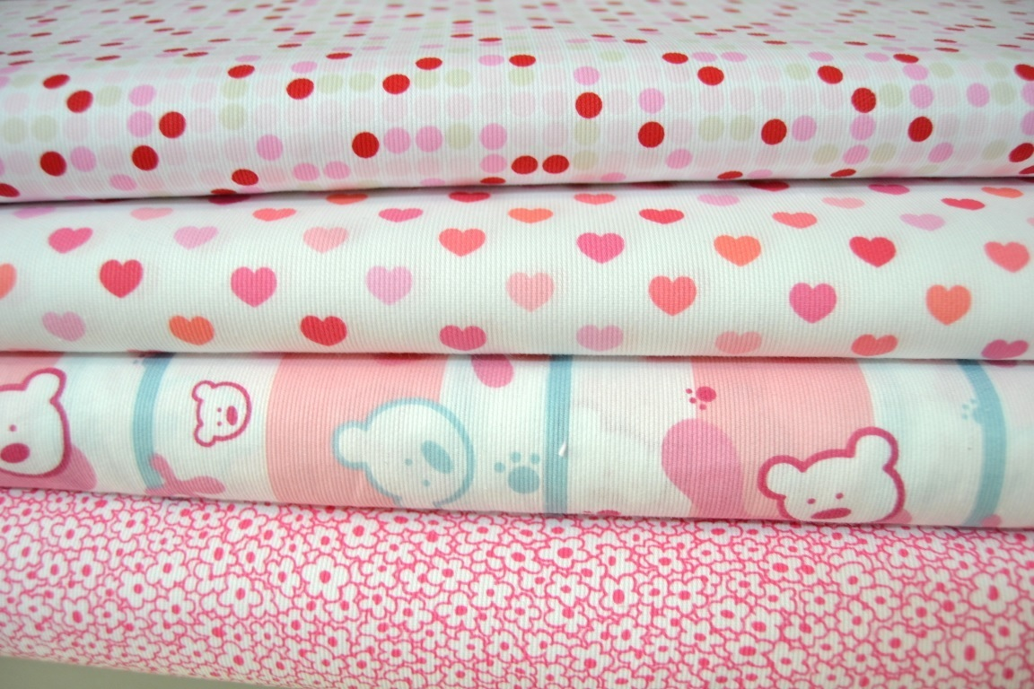 Piqu 2 barato telas infantiles flores - Telas para colchas infantiles ...
