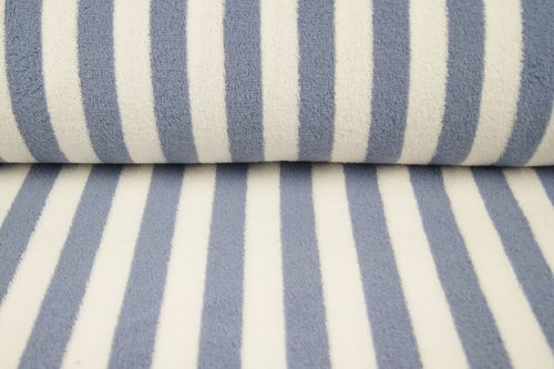 Tela de toalla Stripes 9950-401 Jeans Blue
