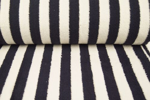 Towel fabric stripes 9950-8 Navy