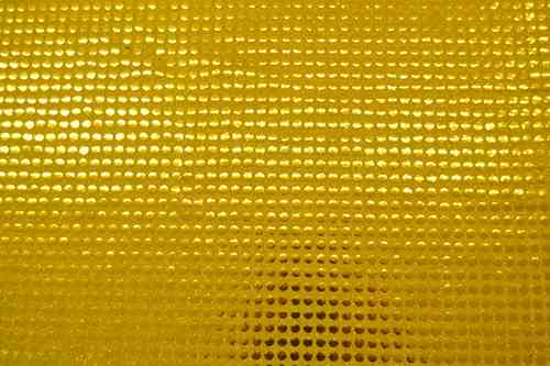 Sequined Fabrics gold