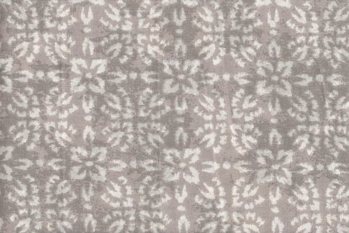 Stamped Fabric cotton shirobi gris