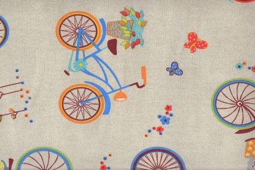 Printed canvas Bicis