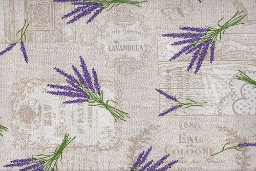 Printed canvas Lavanda
