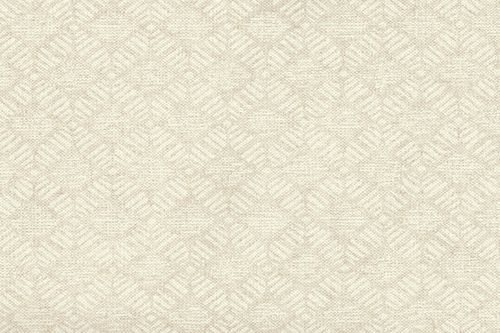 Printed canvas couvet beige