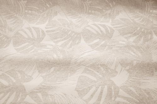 Jacquard tropical lino