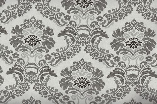 Jacquard well 26 gris