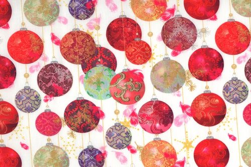 Digital prints Boules multicolore