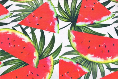Stain Resistant Tablecloth Watermelon