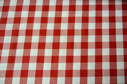 Crepe tablecloth
