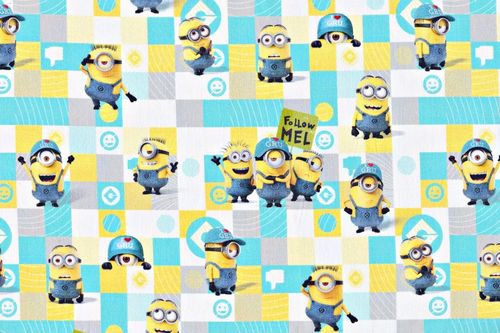 Disney minions follow mel