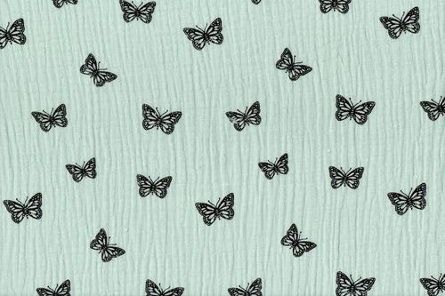 Baby Cotton Butterfly Mint 4612-021