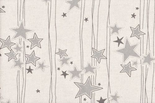 Linen Christmas tamku 45 grey lurex
