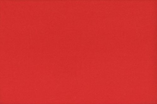 French Terry plain 2775-015 Red