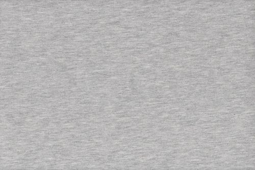 French Terry plain 2776-061 Light Grey