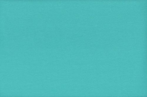 French Terry plain 2775-004 Aqua
