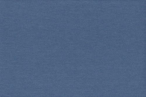 French Terry plain 2775-006 Dusty Blue