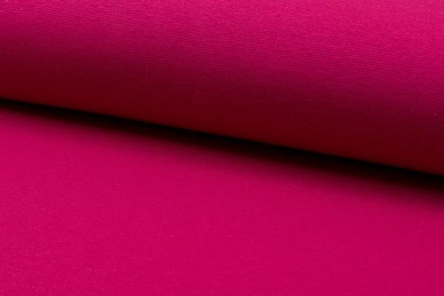 French Terry plain 2775-017 Fuchsia