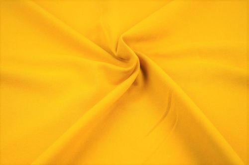 French Terry plain 2775-035 Yellow