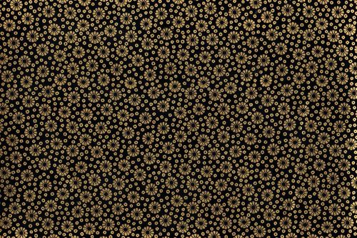 Robert Kaufman collection metallic black