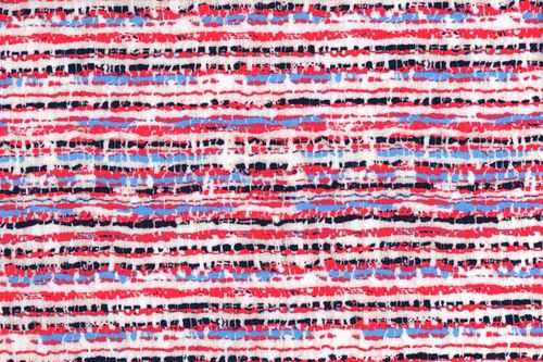French Terry print 12345-10 stripes