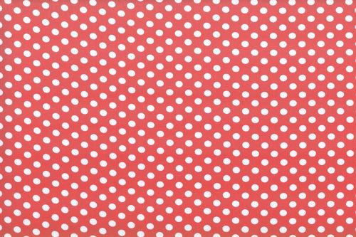 Koshivo crepe dots little red white