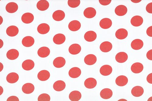 Koshivo crepe dots middle white red