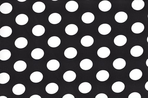Koshivo crepe dots middle black white