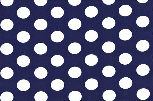 Koshivo crepe dots middle navy white