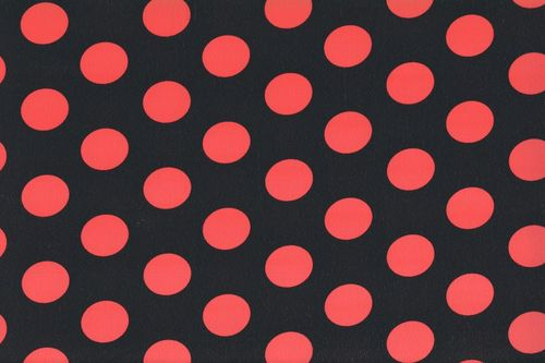 Koshivo crepe dots middle black red