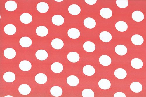 Koshivo crepe dots middle red white