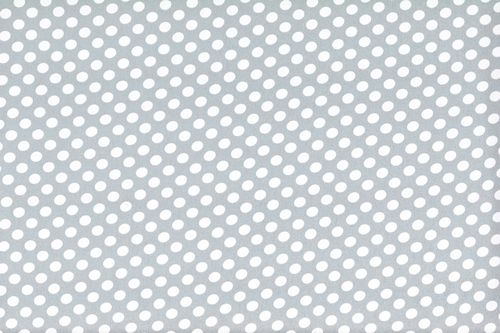 Koshivo crepe dots little gray white