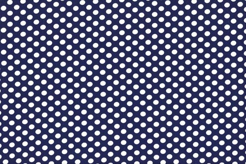 Koshivo crepe dots little navy white