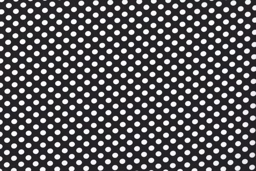 Koshivo crepe dots little black white