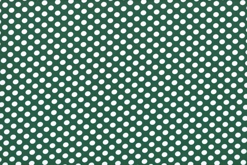 Koshivo crepe dots little green white