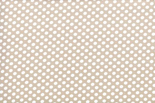 Koshivo crepe dots little beige white