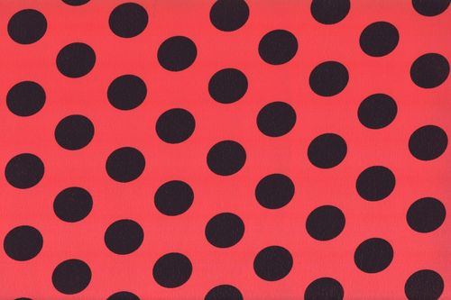 Koshivo crepe dots middle red black
