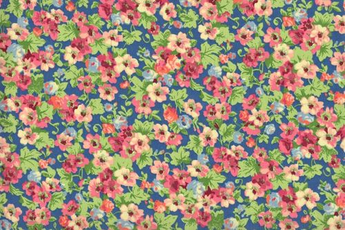 Country Floral 08 blue