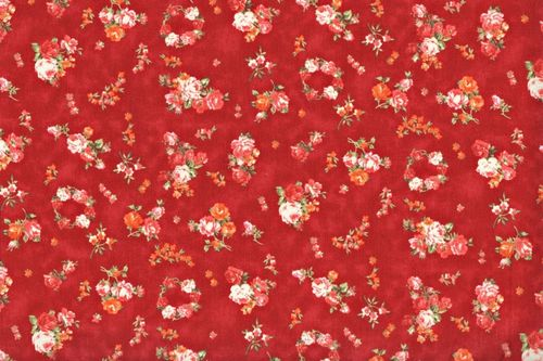 Country Floral 1223 red