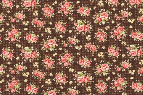 Country Floral 1649 brown
