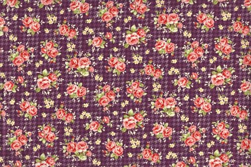 Country Floral 1649 purple