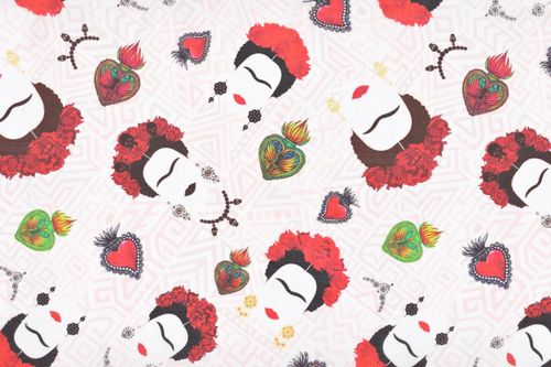 Cotton ce digital frida heart