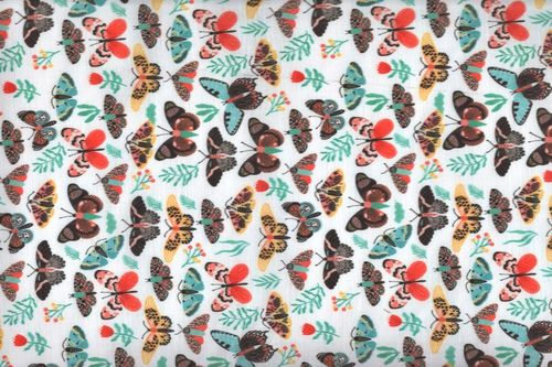 Cotton g digital butterfly