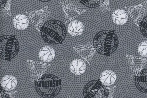 Cotton IN digital basketball white