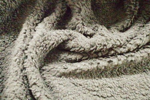 Shearling fabric Soft